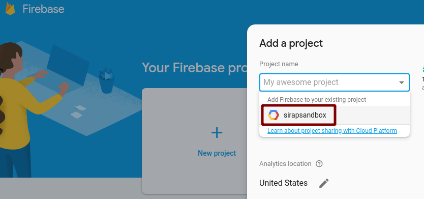 Setup Firestore and Cloud Function · Nicolas Paris